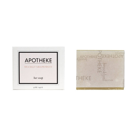 Apotheke Bar Soap Sea Salt Grapefruit