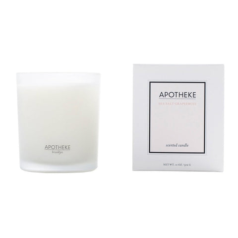 Apotheke Scented Candle Sea Salt Grapefruit