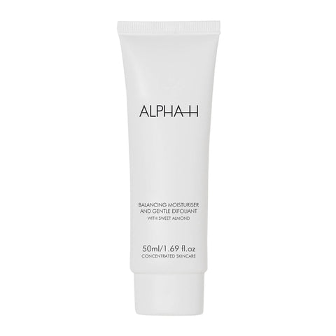 Alpha-H Balancing Moisturiser and gentle exfoliant
