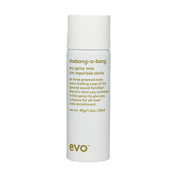 evo shebang-a-bang dry spray wax mini 50ml