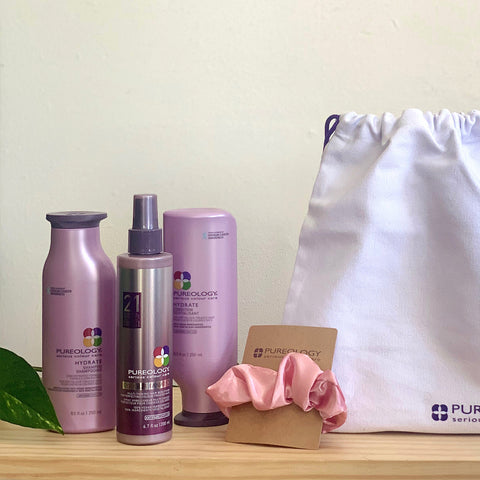 Pureology Christmas Trio - Smooth Perfection/Hydrate Sheer/Hydrate/Strength Cure/Best Blonde/Curl Complete