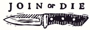 Join or Die Knives