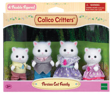 Load image into Gallery viewer, Calico Critter Persian Cat Family