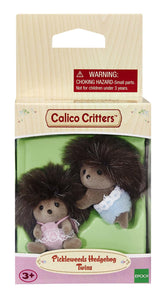 Calico Critter Pickleweeds Hedgehog Twins