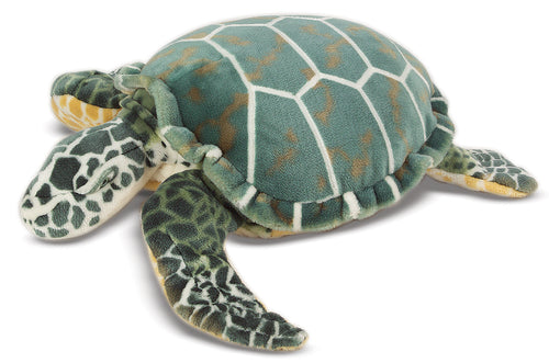 Giant Plush Sea Turtle
