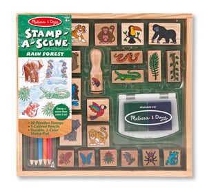 Stamp-a-Scene Rain Forest
