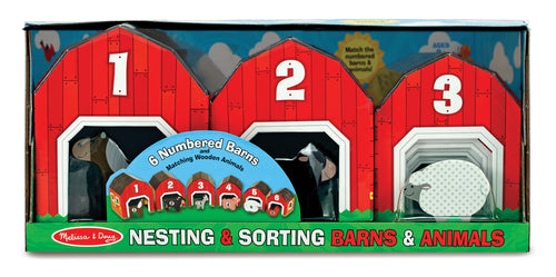 Nesting & Sorting Barns & Animals