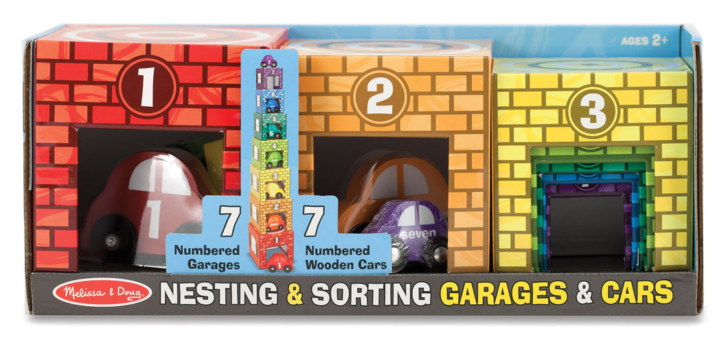 Nesting & Sorting Garages & Vehicles