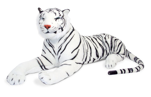 Giant Plush White Tiger