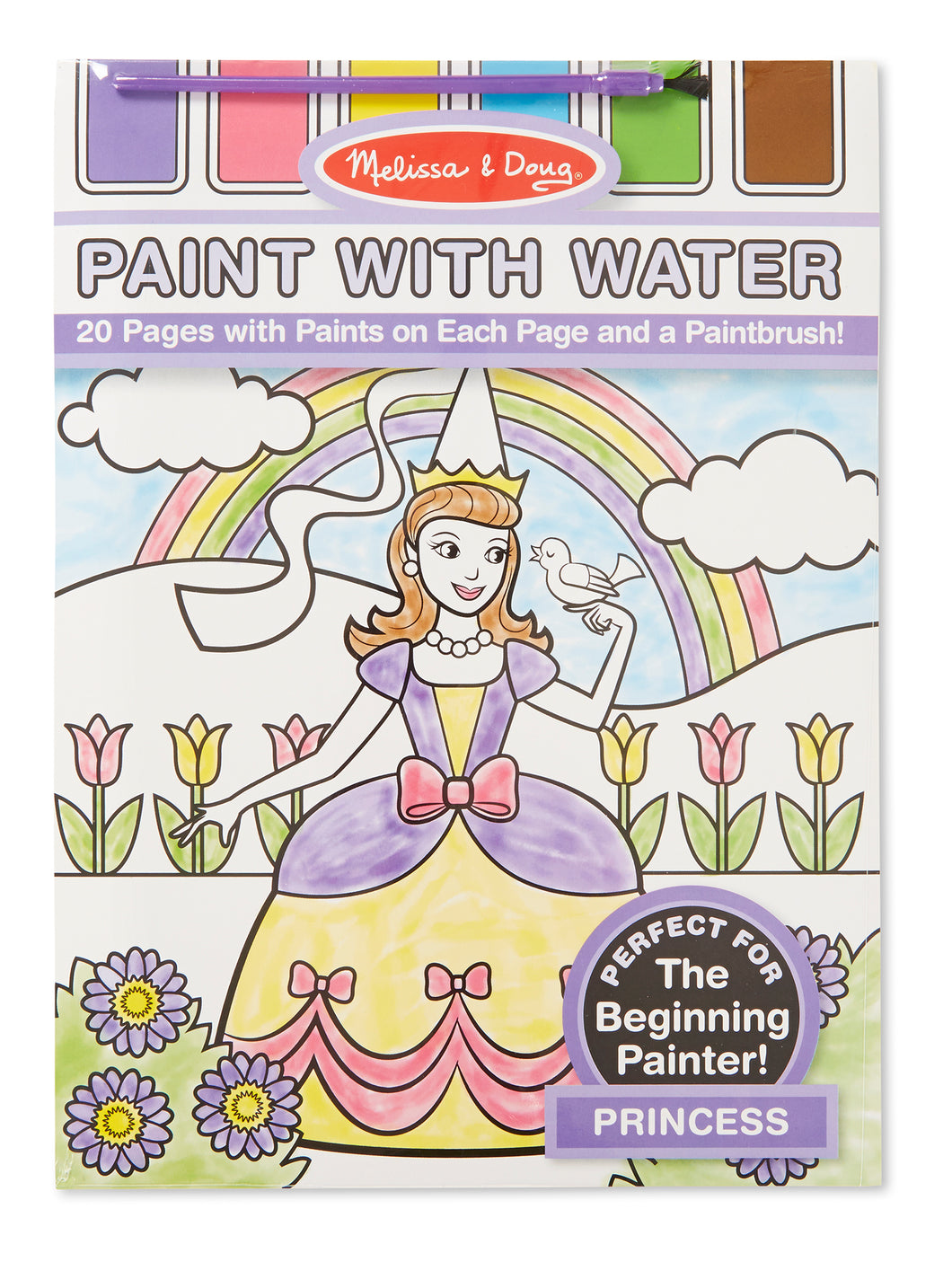 Paint with Water Kids' Art Pad - Princess