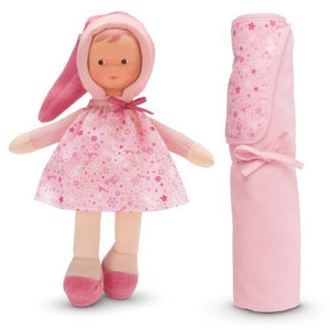 Miss Pink Star Baby Doll and Blanket
