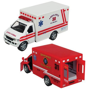 Rescue Team EMS Vehicle