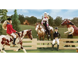 "Megan - Dressage Rider 8"" Figure"