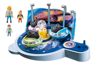 PLAYMOBIL® Spinning Spaceship Ride with Lights