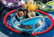 Load image into Gallery viewer, PLAYMOBIL® Spinning Spaceship Ride with Lights