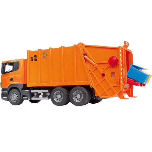 Scania R-Series Garbage Truck - Orange