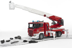 Scania R-Serie Fire Engine with Water Pump and L and S Module