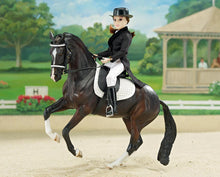 "Load image into Gallery viewer, Megan - Dressage Rider 8"" Figure"