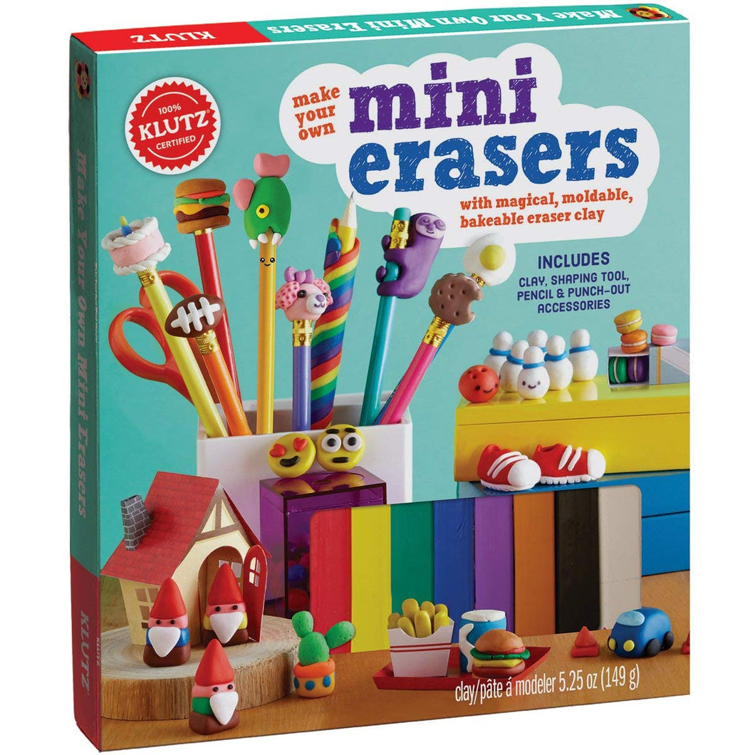 Make Your Own Mini Erasers Toy