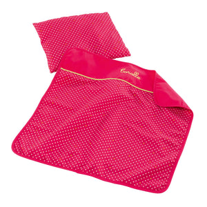 Mon Classique Cherry Blanket and Pillow Set