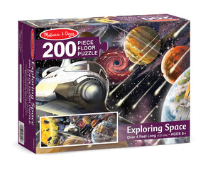 Exploring Space Floor Puzzle - 200 Pieces