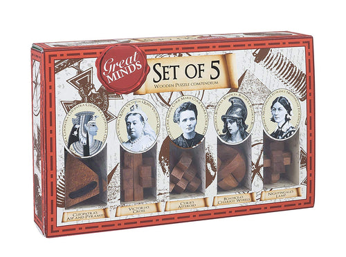 Great Minds Set of Five - Female