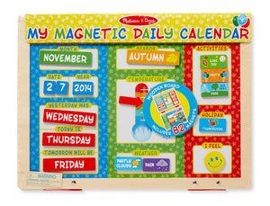 My First Daily Magnetic Calendar
