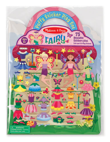 Puffy Stickers Play Set - Fairy