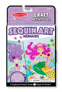 On the Go Sequin Scenes Activity Set - Mermaids