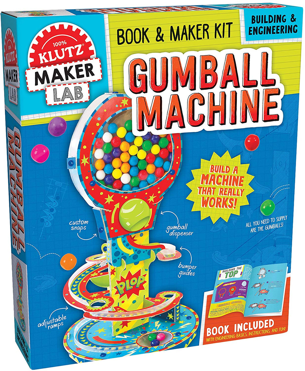 Gumball Machine - Book & Maker Kit
