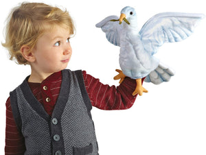 Plush Dove Hand Puppet
