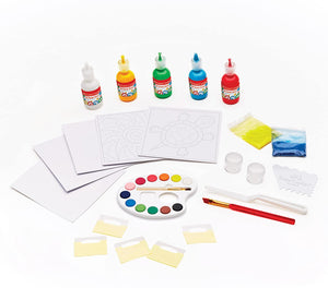 Faber-Castell 3D Sand Painting - Textured Sand Art Activity Kit for Kids
