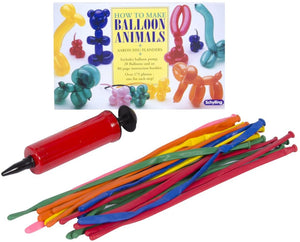Schylling How to Make a Balloon Animals kit