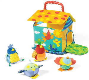 Put and Peek Birdhouse Soft Activity Toy