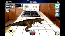 Load image into Gallery viewer, National Geographic Wildlife Wow! - Realistic Soft Dinosaur Action Figure (Large Triceratops) - STEM Toy with FREE Augmented Reality App