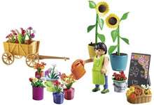 Load image into Gallery viewer, PLAYMOBIL Florist Building Set