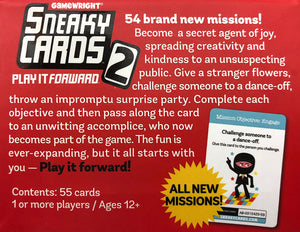Sneaky Cards 2 - Play It Forward