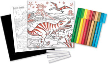 Load image into Gallery viewer, Faber-Castell Color by Number Foil Fun - T-Rex