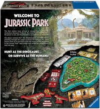 Load image into Gallery viewer, Jurassic Park Danger! Adventure Strategy Game for Kids & Adults Age 10 & Up!