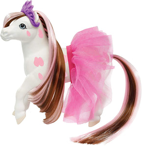 Breyer Horses Color Changing Bath Toy | Blossum The Ballerina Horse | Brown/ White with Surprise Pink Color