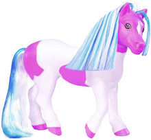 Load image into Gallery viewer, Breyer Horses Color Changing Bath Toy | Ella the Horse | Purple / White with Surprise Pink Color