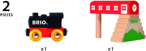 Brio World Classic Bridge Station | 2Piece Train Toy with Bridge Accessory for Kids Ages 2 & Up
