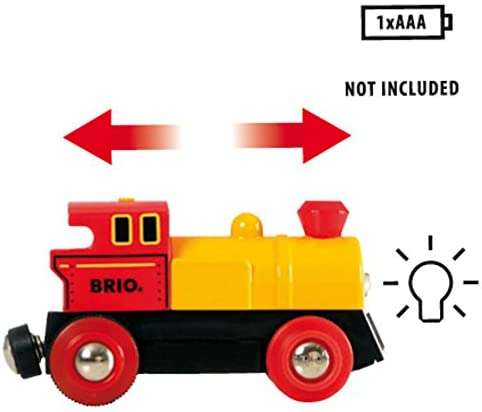 BRIO World Two-Way Battery-Operated Engine | Train Toy for Kids Ages 3 and Up