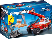 Load image into Gallery viewer, PLAYMOBIL Fire Crane