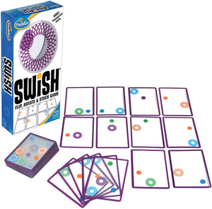Swish - A Fun Transparent Card Game and Toy of the Year Nominee For Age 8 and Up