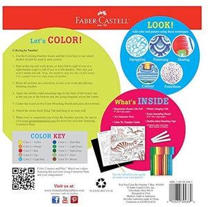 Faber-Castell Color by Number Foil Fun - T-Rex