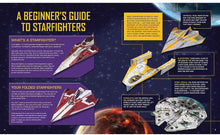 Load image into Gallery viewer, Star Wars Folded Flyers: Make 30 Paper Starfighters
