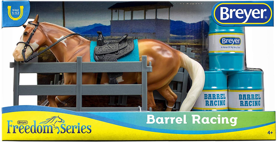 Breyer Freedom Series (Classics) Barrel Racing Horse Playset