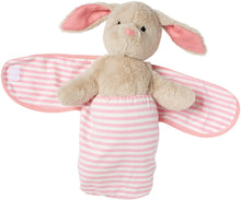 Load image into Gallery viewer, Baby Bunny Stuffed Animal with Swaddle Blanket, 11""