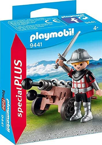 PLAYMOBIL Knight W/ Cannon
